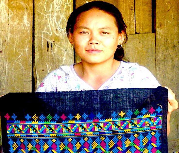 Yao Mien woman, Merynguyen Saechao with