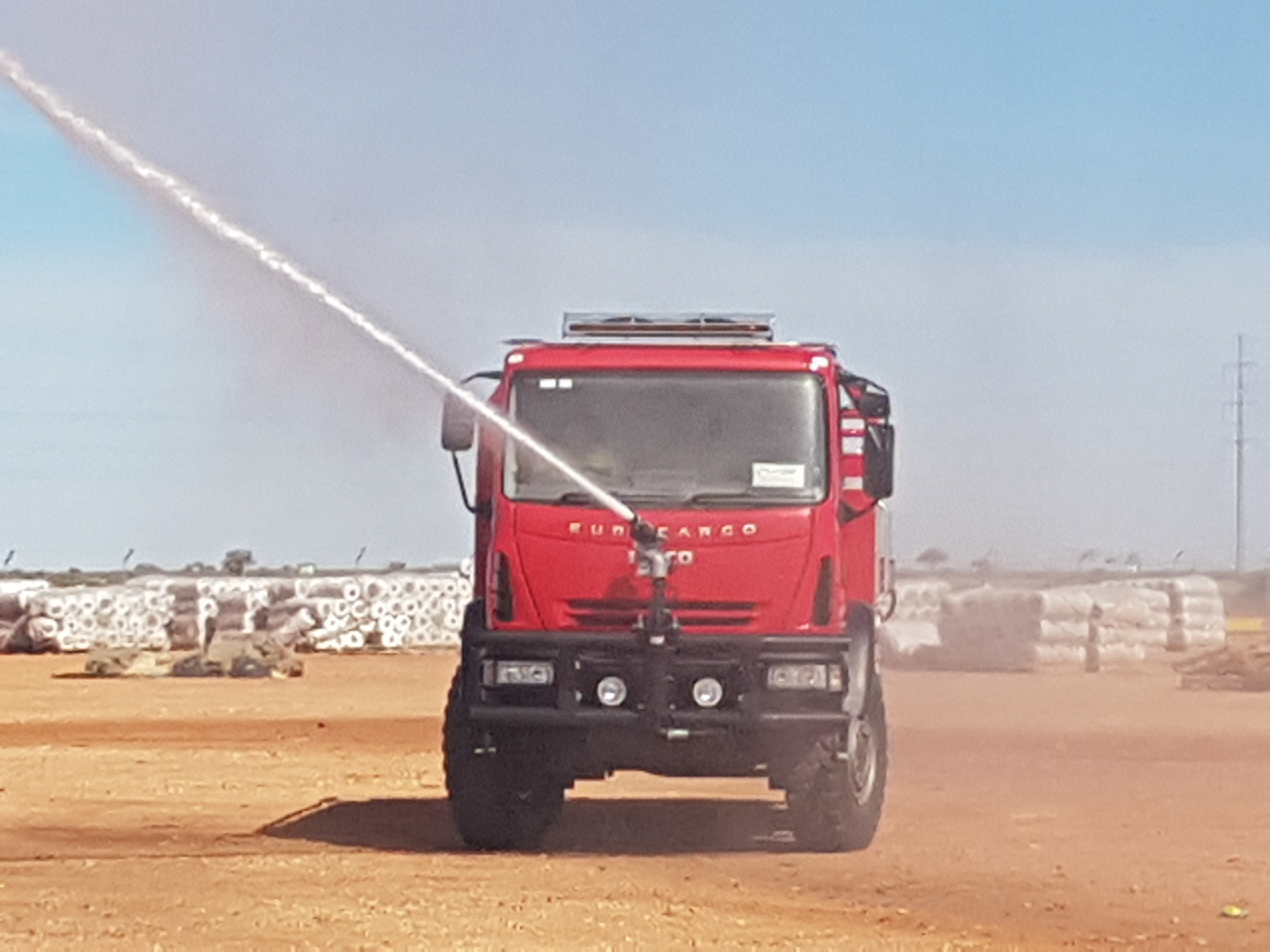 ANCO Industrial Fire Truck1