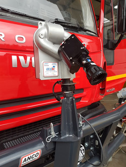 Front bumper Monitor Fire Truck
