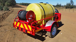 1 000L Fire Fighting Trailer