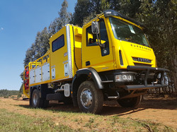 Forestry Fire Fighting Unit