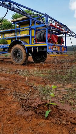 MP3000 Tree planting Trailer