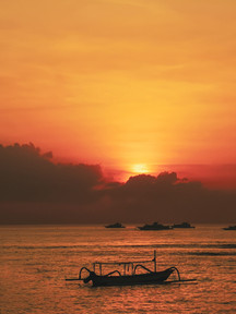 Sunrise at Sanur, Bali