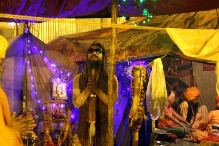 monk india kumbh mela
