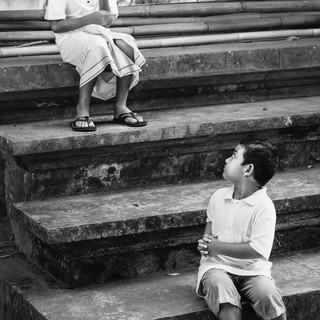 Playful Boys in Bali