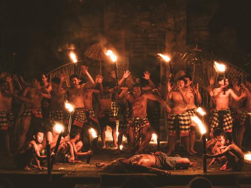 Full Moon Dance Ritual in Ubud, Bali - a photo essay