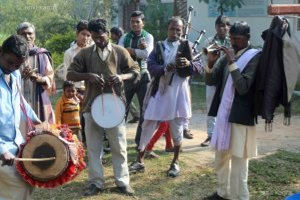 wedding musicians in rural india