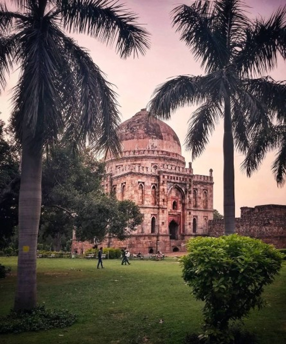 lodhi garden in delhi india