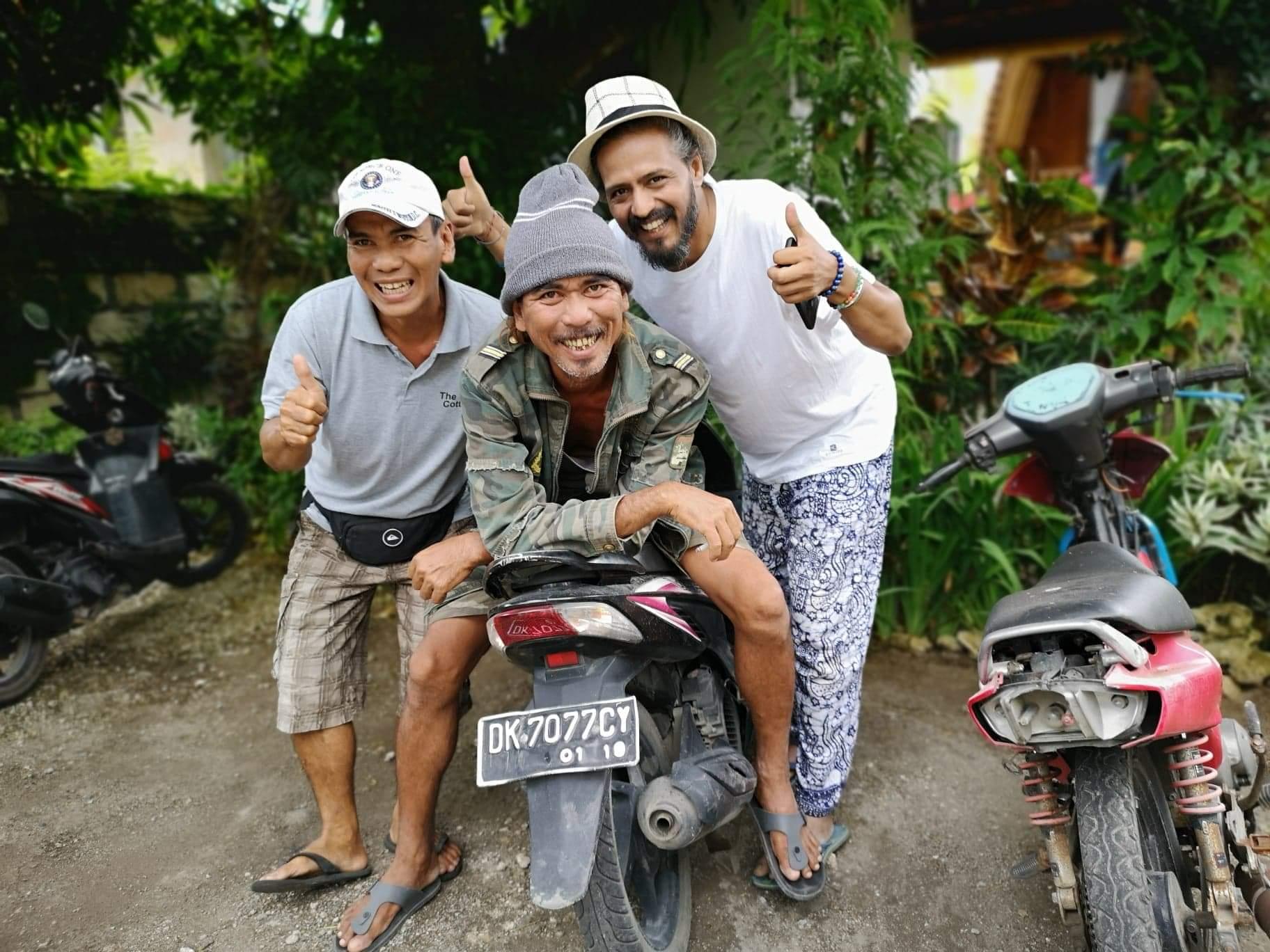 Friendship in Bali