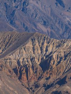 Abstract Mountain Art