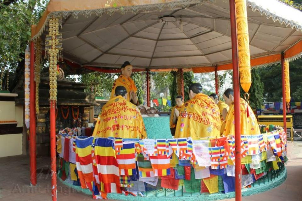 buddha sermon sarnath india