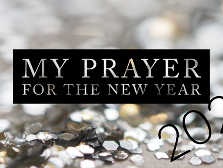 My Prayer for the New Year