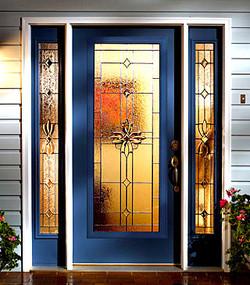 Home hurricane impact doors