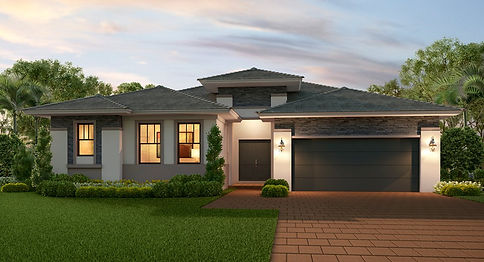 New residential home construction in Florida