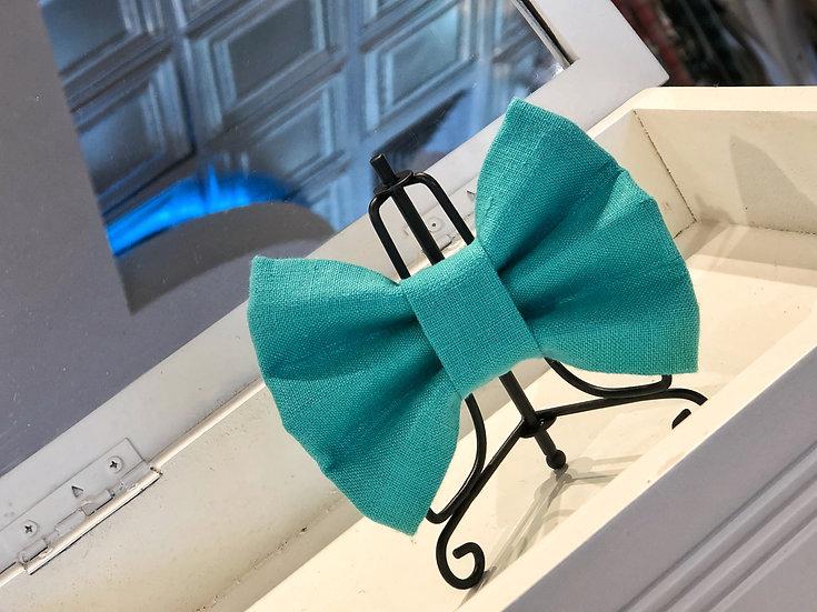 Hampton Turquoise Bow Tie/Flower