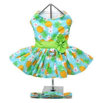 Pineapple Luau Dress  w/leash