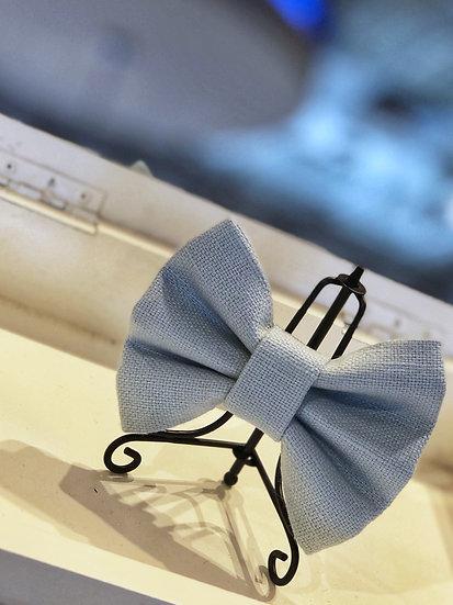 Hampton Powder Blue Bow Tie/ Flower