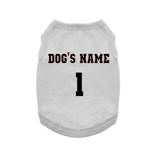 Personalized Dog Tank