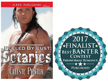 FUELED BY LUST: SOTARIOS gets TOP 3 FINALIST nod in MMRWA BEST BANTER contest. Final judging soon!