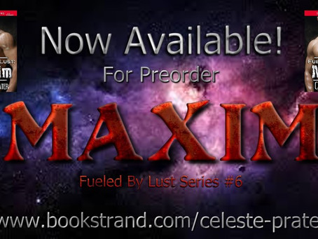 FUELED BY LUST: MAXIM - Available for Preorder