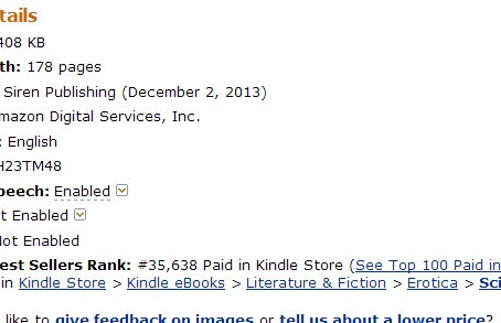 FUELED BY LUST: DRUSUS rallying upward at #26 on AMAZON!