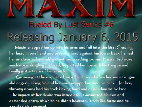 FUELED BY LUST: MAXIM - RELEASE DATE 1-6-2015
