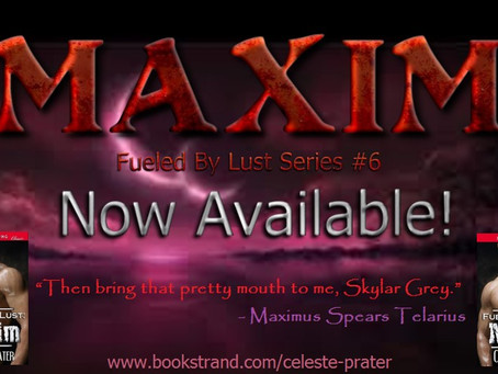 FUELED BY LUST: MAXIM - Now Available at Bookstrand