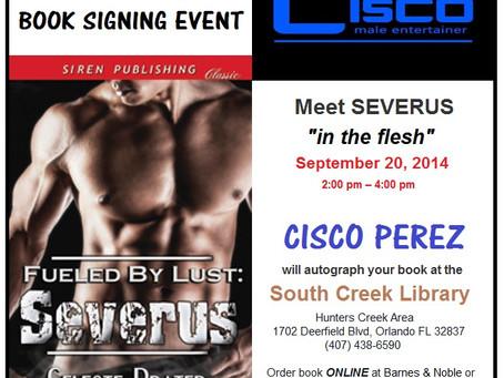 "MEET THE MODEL - Cisco Perez ""Severus"" Book Signing"