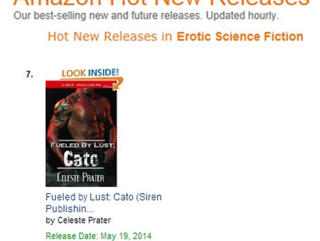 CATO HITS #7 HOT NEW RELEASES ON AMAZON