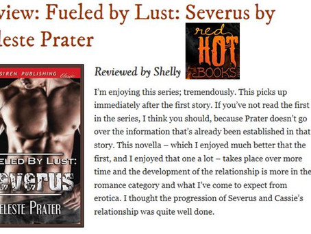 RED HOT BOOKS 4.5 STAR REVIEW - BOOK 2 SEVERUS