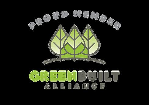 GreenBuilt logo_Proud Member - NO OVAL T