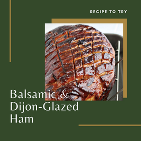 Balsamic and Dijon-Glazed Ham