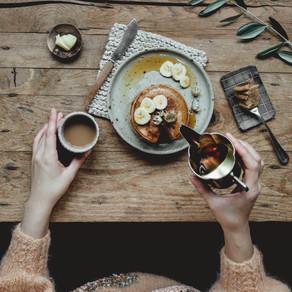 Have leftover Eggnog? Make Eggnog Pancakes!