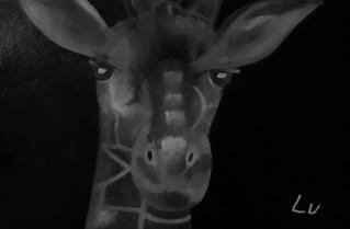 Giraffe by Luna Smith
