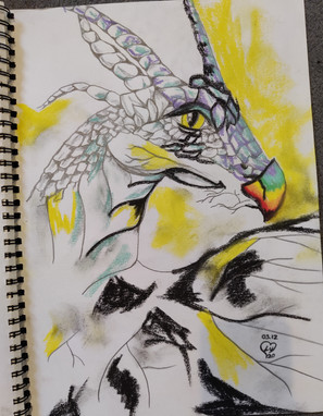 Sun Dragon by Luna Smith