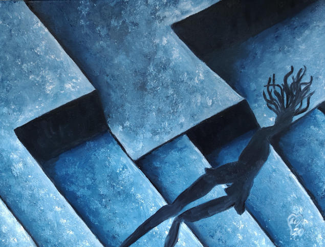 V in Shadows by Luna Smith