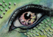 Mermaid EYE by Luna Smith