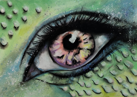 Mermaid EYE by Luna Smith