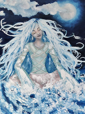 Water Goddess by Luna Smith - the best art in the world