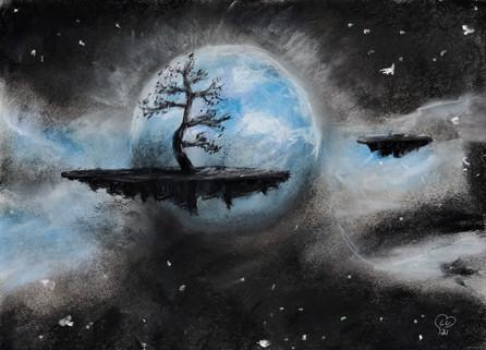 Space alien island by Luna Smith - drawing.jpg