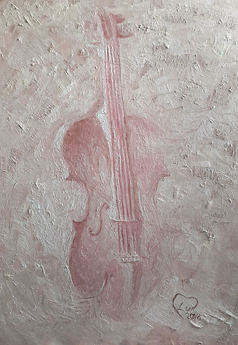 Violin by Luna Smith - the best art in the world