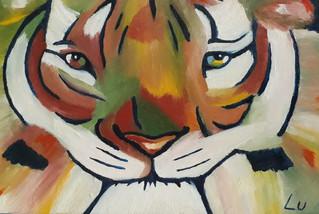 Tiger by Luna Smith