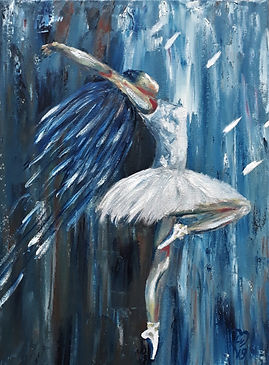 Ballerina by Luna Smith - the best art in the world