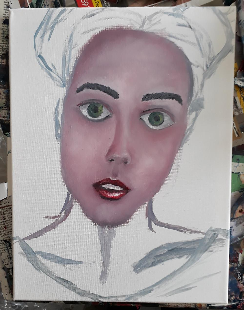 Work in progress, a portrait.