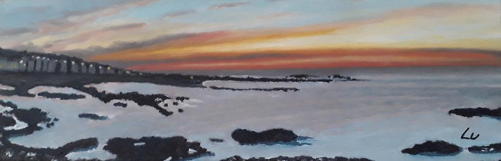 Sunset at North Berwick Beach