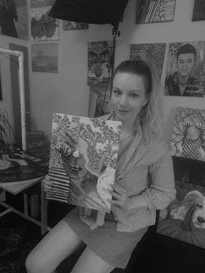 Complicated by Luna Smith - art studio