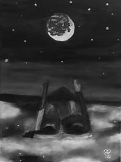 Dreams by Lu aka Luna Smith, Scottish contemporary art.