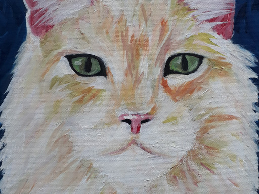 How to paint pets portraits in oil