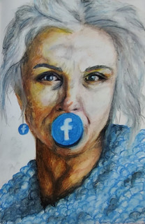 What if facebook was a person by Lu