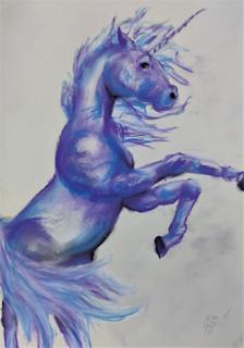 Unicorn drawing by Luna Smith